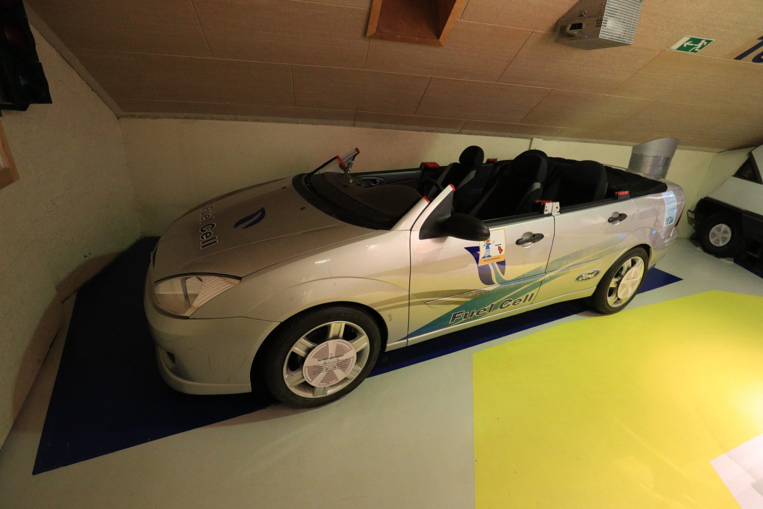 "Das Exponat ""Beule"" im Kinder- und Jugendmuseum EnergieStadt. Foto: Museum"