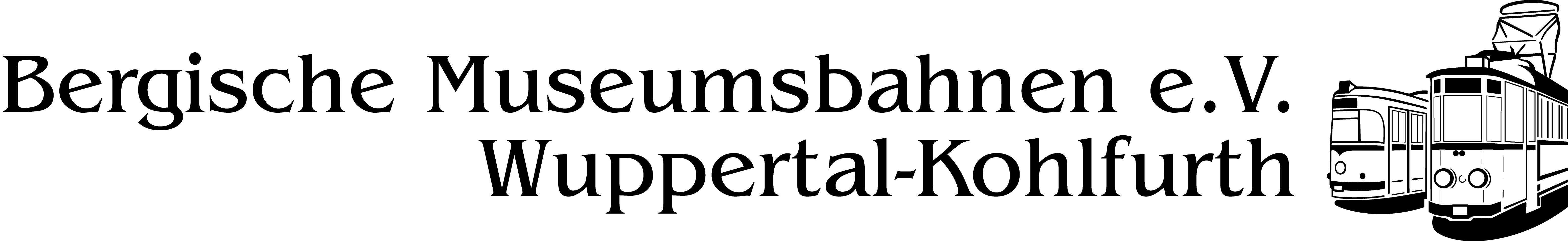 Logo Bergische Museumsbahnen e.V.