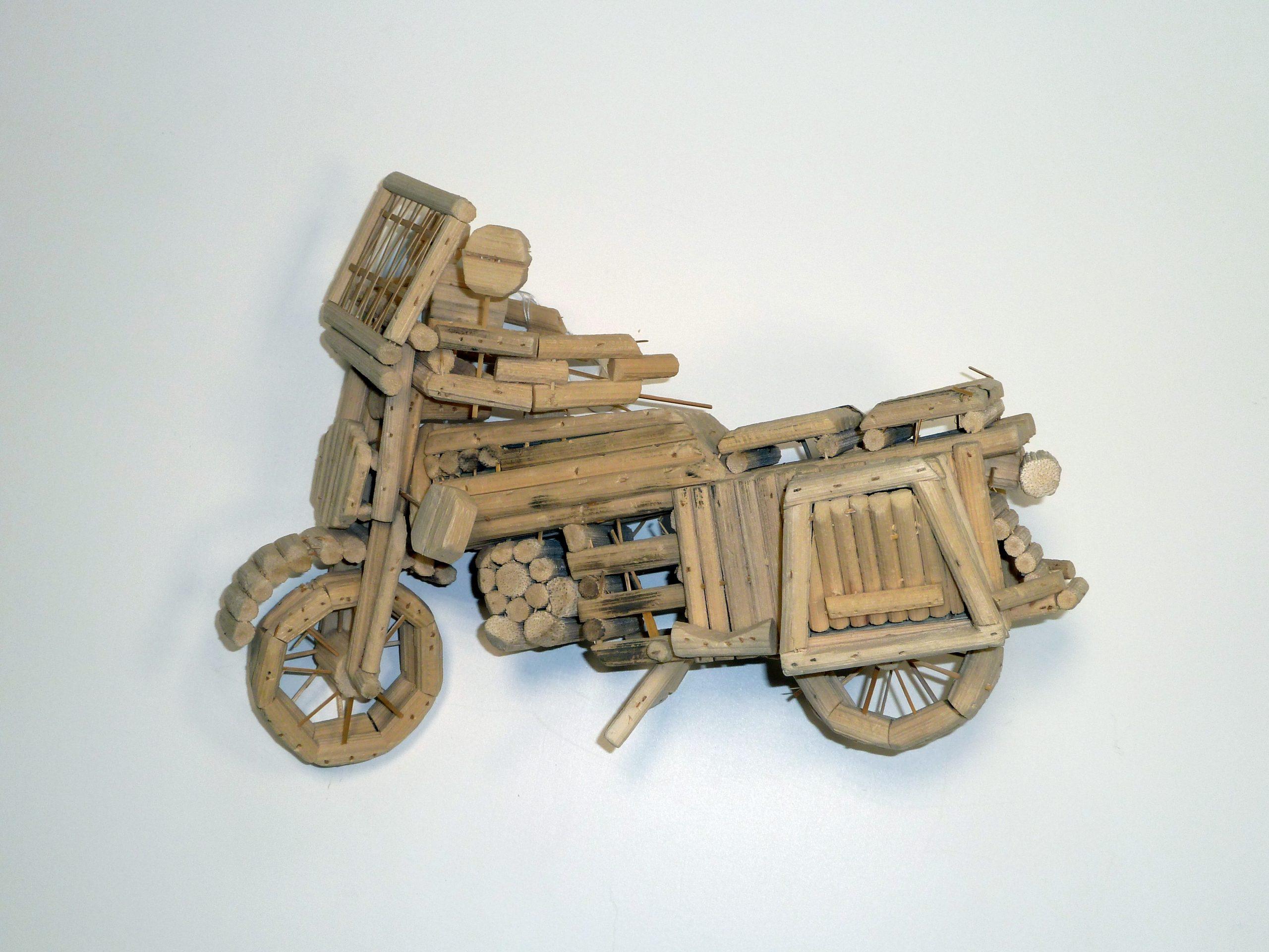 Motorradmodell aus Kamerun. Foto: Archiv- und Museumsstiftung der VEM