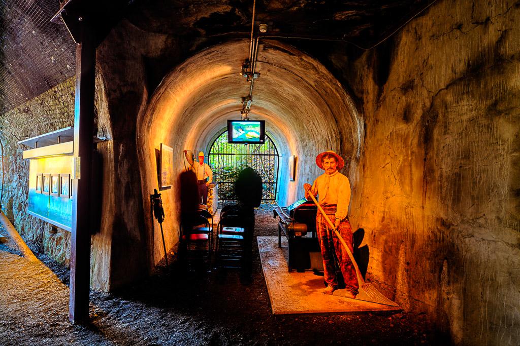 Blick in den Zeittunnel Wülfrath