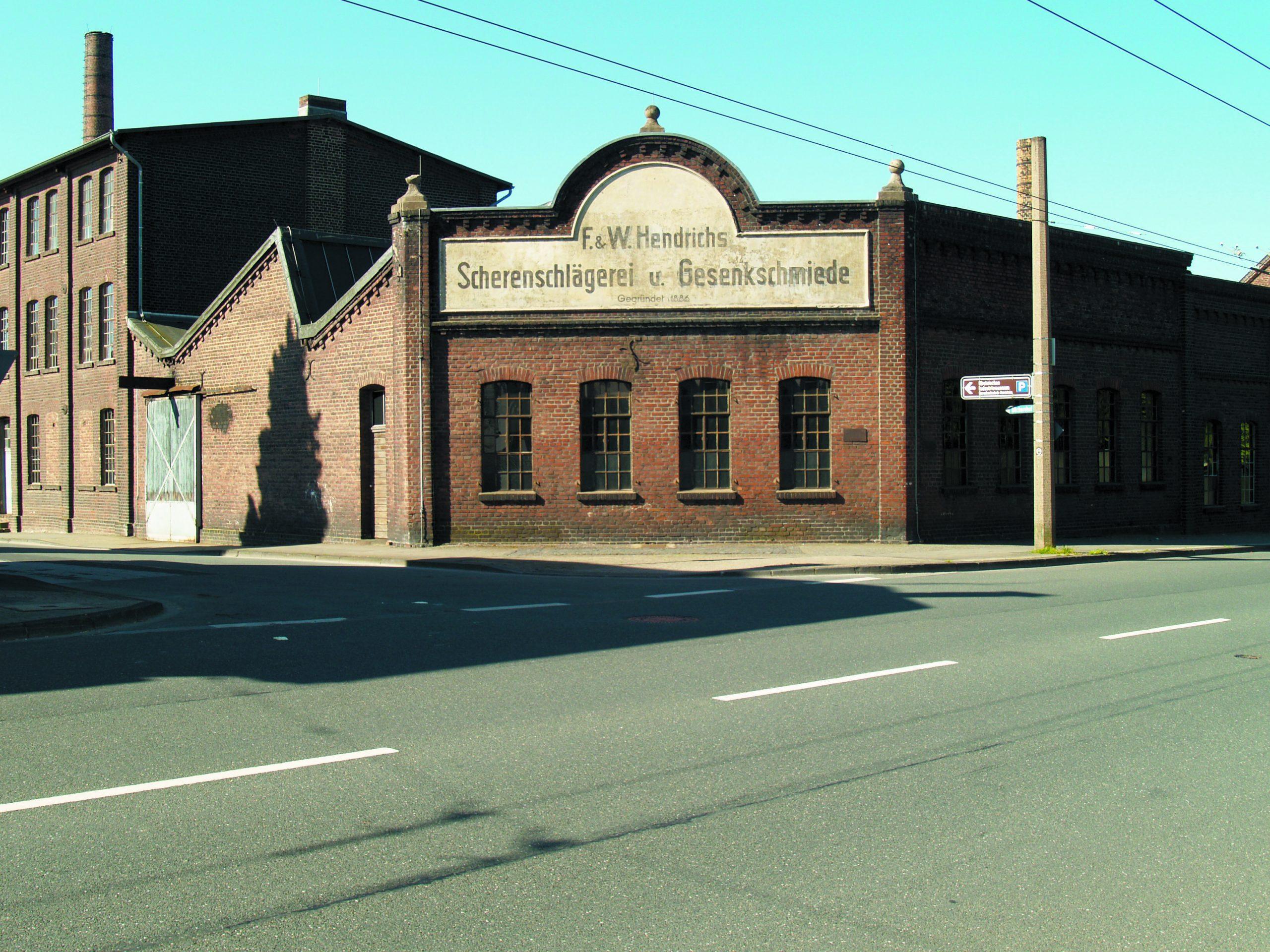 Außenansicht LVR-Industriemuseum Solingen