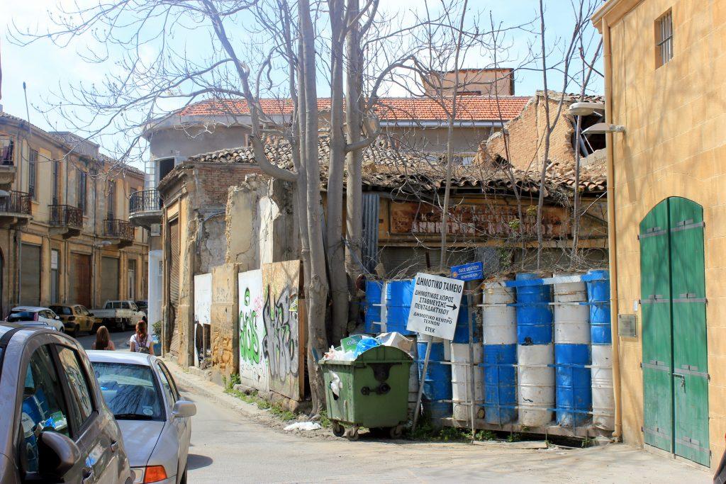Die Grüne Linie in Nikosia, Zypern. Creative Commons: Julian Nyca