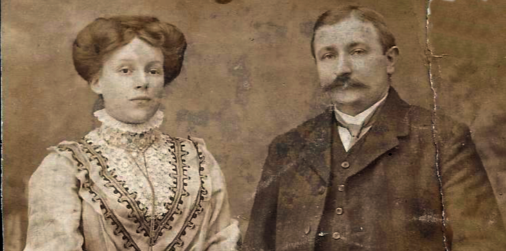 Theodor und Isabella Prumbaum. Sammlung Peter Lückerath
