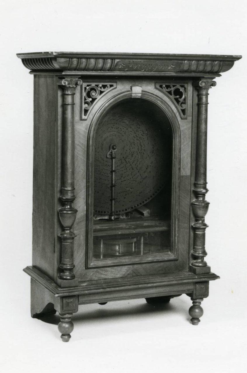 Musikautomat, um 1890